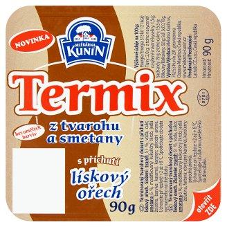 Mlékárna Kunín Termix s příchutí lískový ořech 90g
