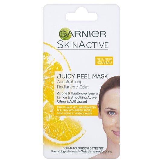 Garnier Skin Active Rozjasňující maska s výtažkem z citrónů a zjemňující aktivní látkou 8ml