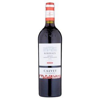 Calvet Bordeaux Merlot Cabernet Sauvignon červené víno suché 750ml