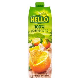 Hello Pomeranč 100% 1l