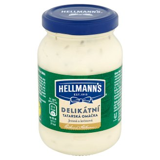 Hellmann's Delicious Tartar Sauce 225ml