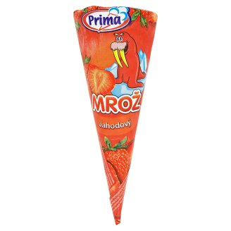 Prima Mrož Strawberry Ice Cream 115ml