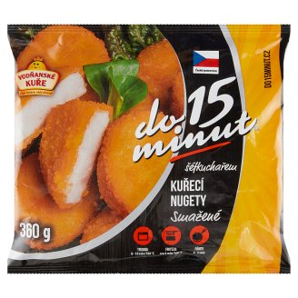 Vodňanské Kuře Do 15 minut Fried Chicken Nuggets 360g