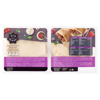 Pita Original Pita Bread for Baking 500g