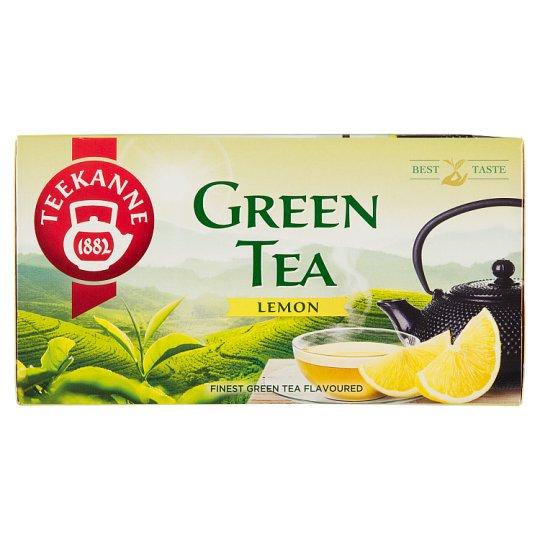 TEEKANNE Flavoured Green Tea with Lemon Taste, 20 Bags, 35g