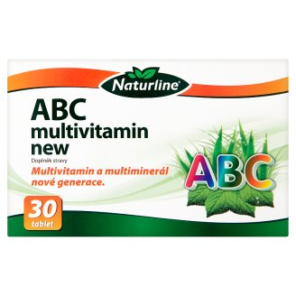 Naturline ABC multivitamin new 30 tablet