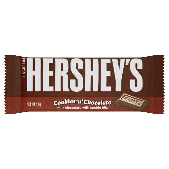 Hershey's Mléčná čokoláda s křupinkami 43g