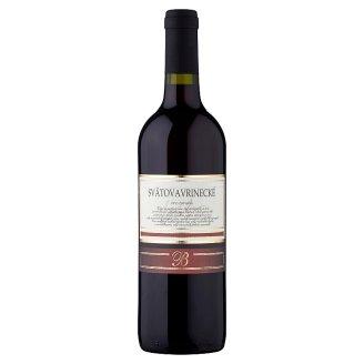 Svätovavrinecké víno červené suché 0,75l