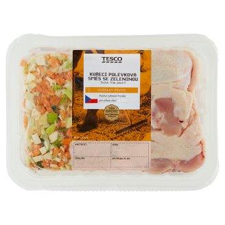 Tesco Fresh Chicken Kuřecí polévková směs se zeleninou