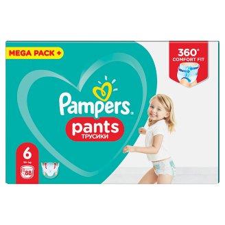 Pampers Pants Vel. 6, 88 Plenkových Kalhotek