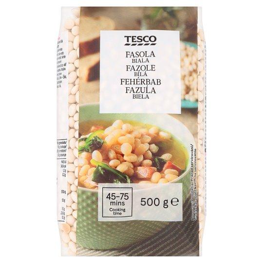 Tesco White Beans 500g