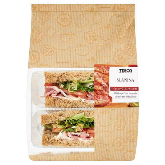 Tesco Sandwich Bacon 153g