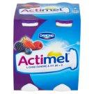 Danone Actimel Milk Yoghurt with Forest Fruits 4 x 100g