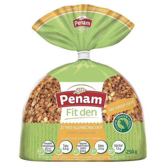 Penam Fit Rye-Bread Whole Wheat Sunflower 250g
