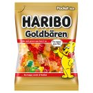 Haribo Goldbären Jelly with Fruit Flavours 100g