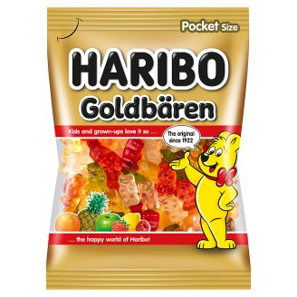 Haribo Goldbären Jelly Candies with Fruit Flavors 100g