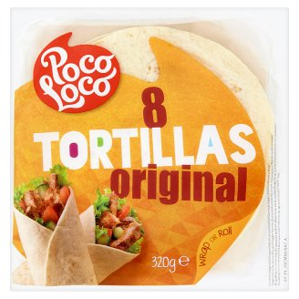 Poco Loco Tortillas of Wheat Flour 8 pcs 320g
