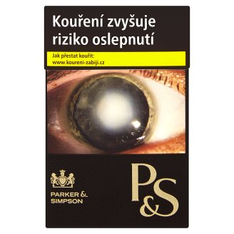 Parker & Simpson Black cigarety s filtrem 20 ks