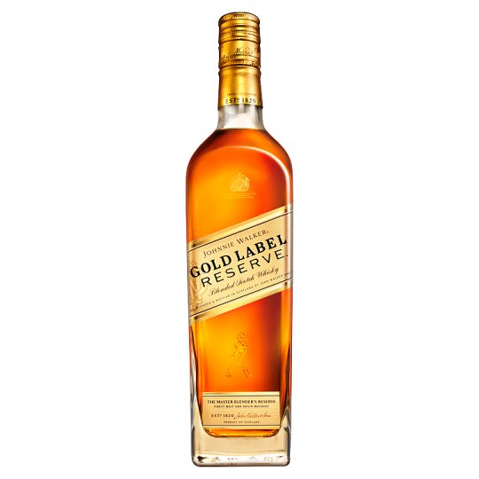 Johnnie Walker Gold label whiskey 0,7l