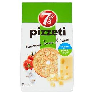 7 Days Pizzeti ementál, rajčata & česnek 80g