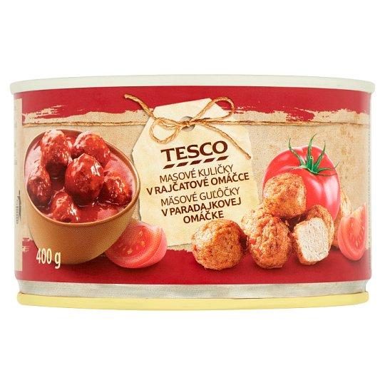 Tesco Masové kuličky v rajčatové omáčce 400g