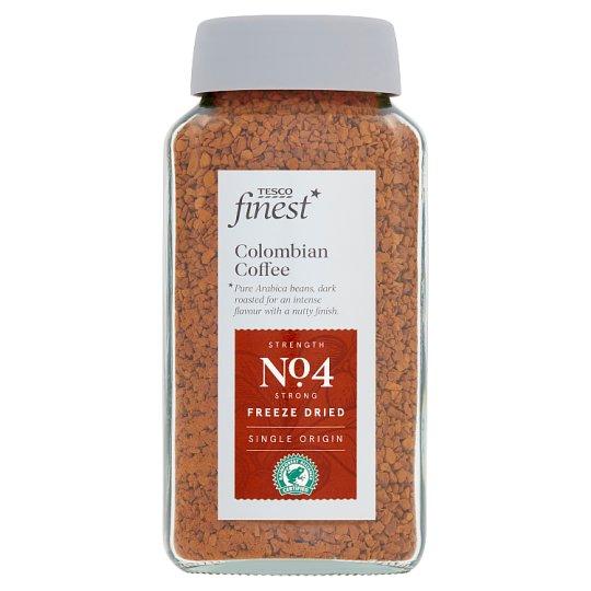 Tesco Finest Colombian instantní káva sušená mrazem 100g