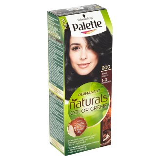 Schwarzkopf Palette Permanent Naturals Color Creme barva na vlasy Černý 900 (1-0)