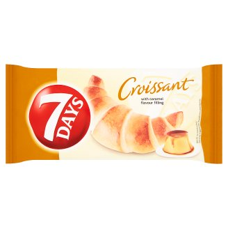 7 Days Croissant with Caramel Filling 60g