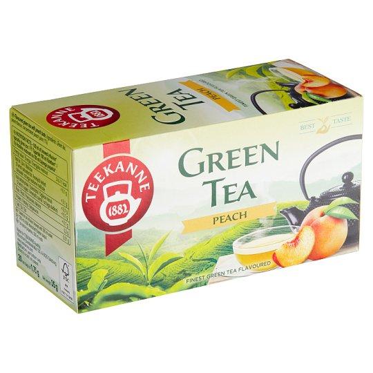 TEEKANNE Peach, zelený čaj, 20 sáčků, 35g