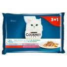 GOURMET Perle Multipack - Mini Fillet in Vegetable Juice with 4 x 85g