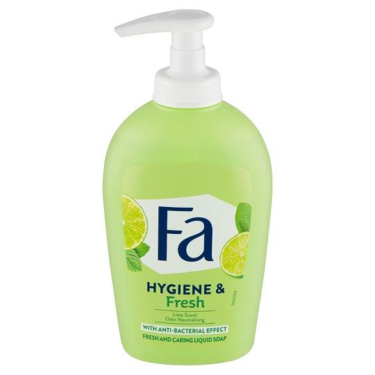 Fa tekuté mýdlo Hygiene & Fresh Lime Scent 250ml