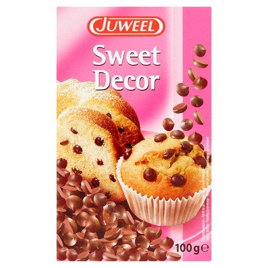 Juweel Sweet Decor Čokoládové kapičky 100g
