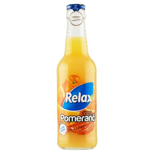 Relax Pomeranč 100% 250ml