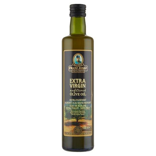 Kaiser Franz Josef Exclusive Extra panenský olivový olej nefiltrovaný 500ml