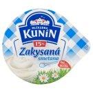 Mlékárna Kunín Zakysaná smetana 15% 190g
