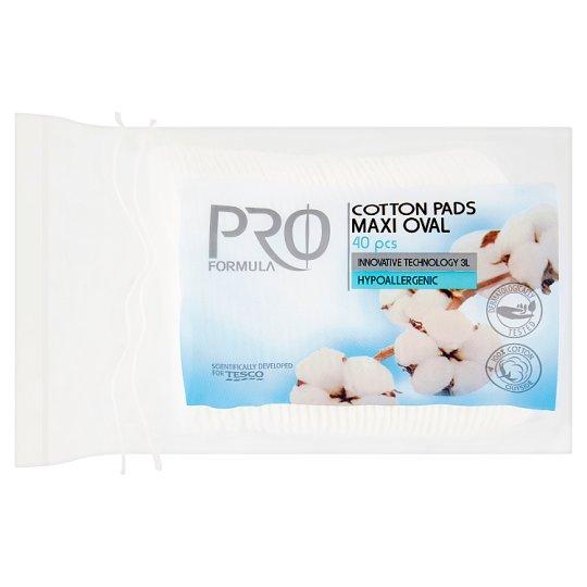 Tesco Pro Formula Kosmetické tampóny oválné 40 ks