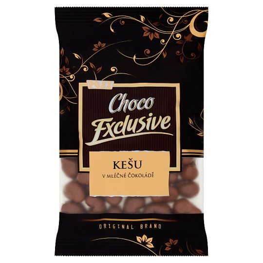 Poex Choco Exclusive Cashew in Milk Chocolate 150g