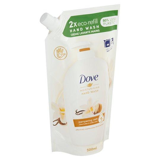 Dove Shea Butter and Vanilla Liquid Soap Refill 500ml