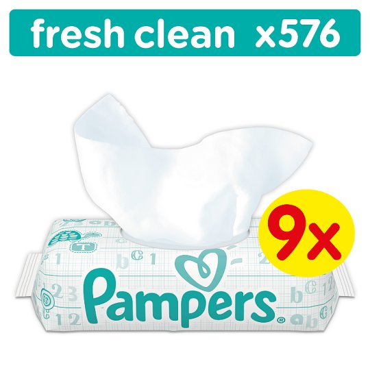 Pampers fresh clean tesco