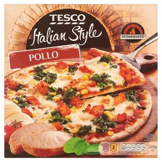 Tesco Italian Style Pollo pizza 320g
