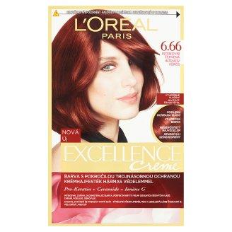 L'Oréal Paris Excellence Creme intenzivní červená 6.66
