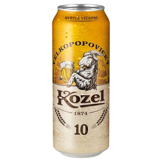 Velkopopovický Kozel Pivo výčepní světlé 500ml