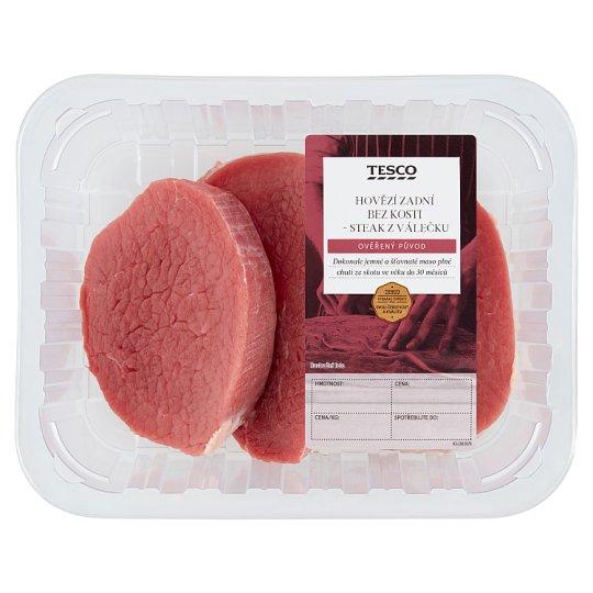 Tesco Hovězí zadní bez kosti steak z válečku 0,400kg