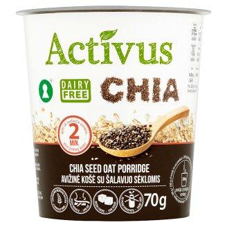 Activus Instantní ovesná kaše s chia semínky 70g