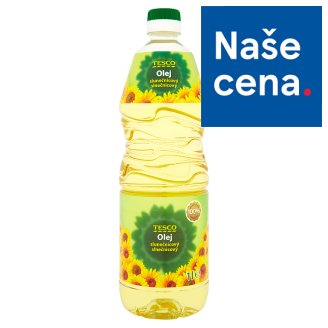 Tesco Sunflower Oil 1L