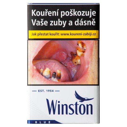 Winston Balance Blue cigarety s filtrem 20 ks