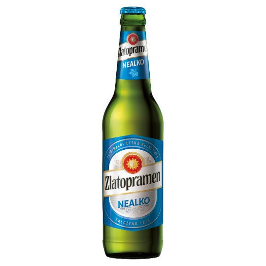 Zlatopramen Non-Alcoholic Light Beer 0.5L