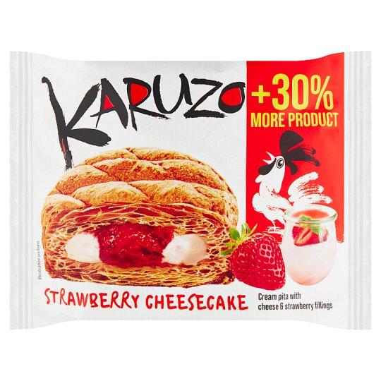 The Bakers Karuzo Pita z listového těsta s jogurtovo-jahodovou náplní 62g