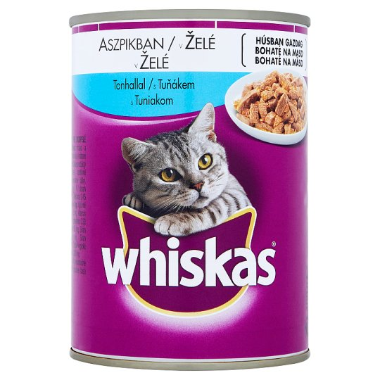Whiskas in Jelly with Tuna 400g