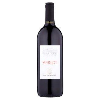 Merlot víno červené suché 1l